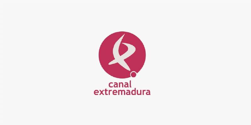 Logo Canal extremadura a color . PHS Serkonten en medios de Comunicación
