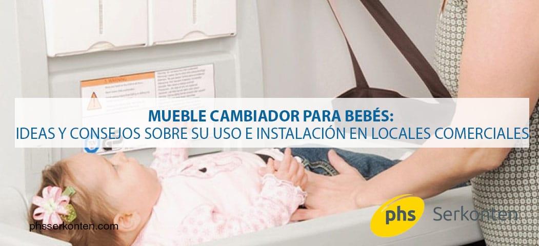 Mueble cambiador bebes