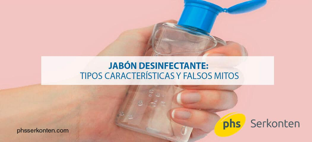 jabón desinfectante
