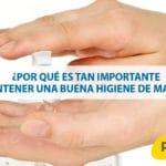 ¿Por qué es tan importante mantener una buena higiene de manos?