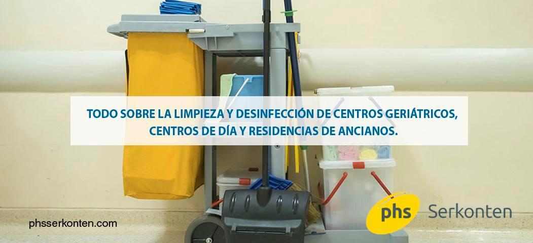 limpieza de centros de mayores