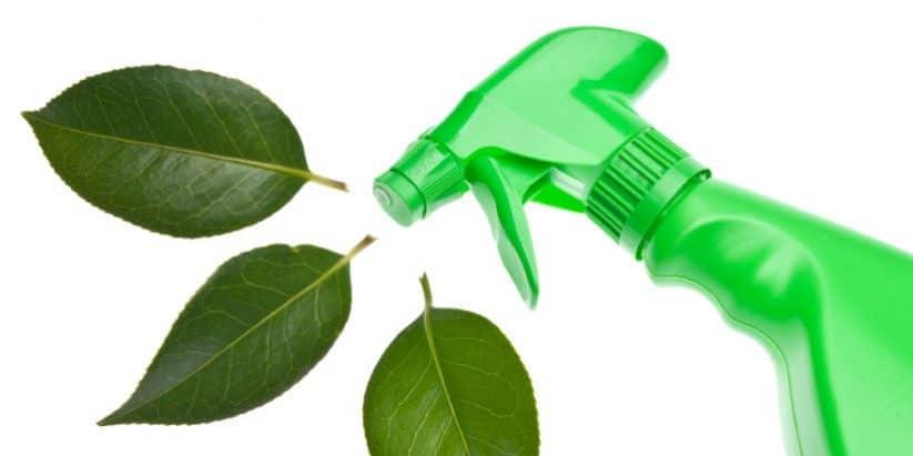 productos de limpieza sostenibles con el medio ambiente