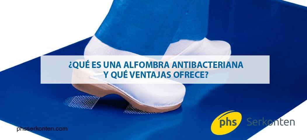 alfombra antibacteriana