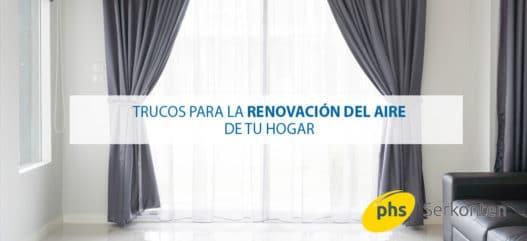 renovación del aire
