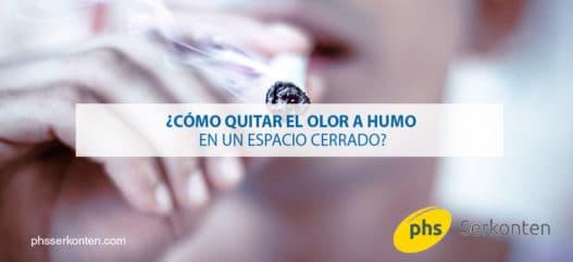 quitar olor a humo