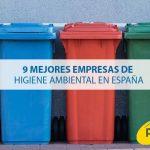 9 mejores empresas de higiene ambiental en España